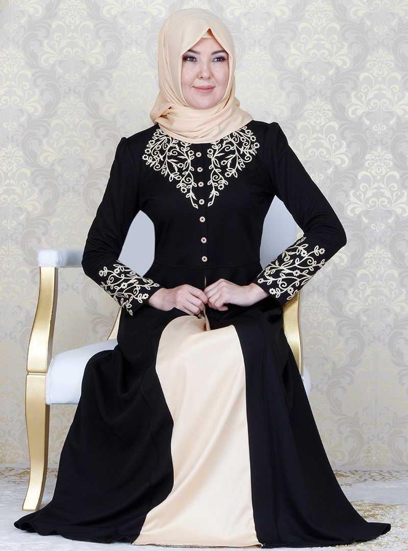Ayşe Melek Tasarım Aplikeli Abiye Elbise Modelleri