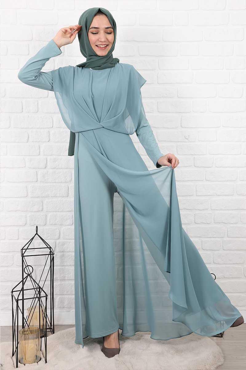 Lamia Giyim Tesettür Tulum Modelleri