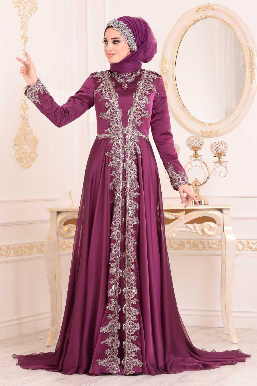 Neva Style Aplikeli Abiye Elbise Modelleri