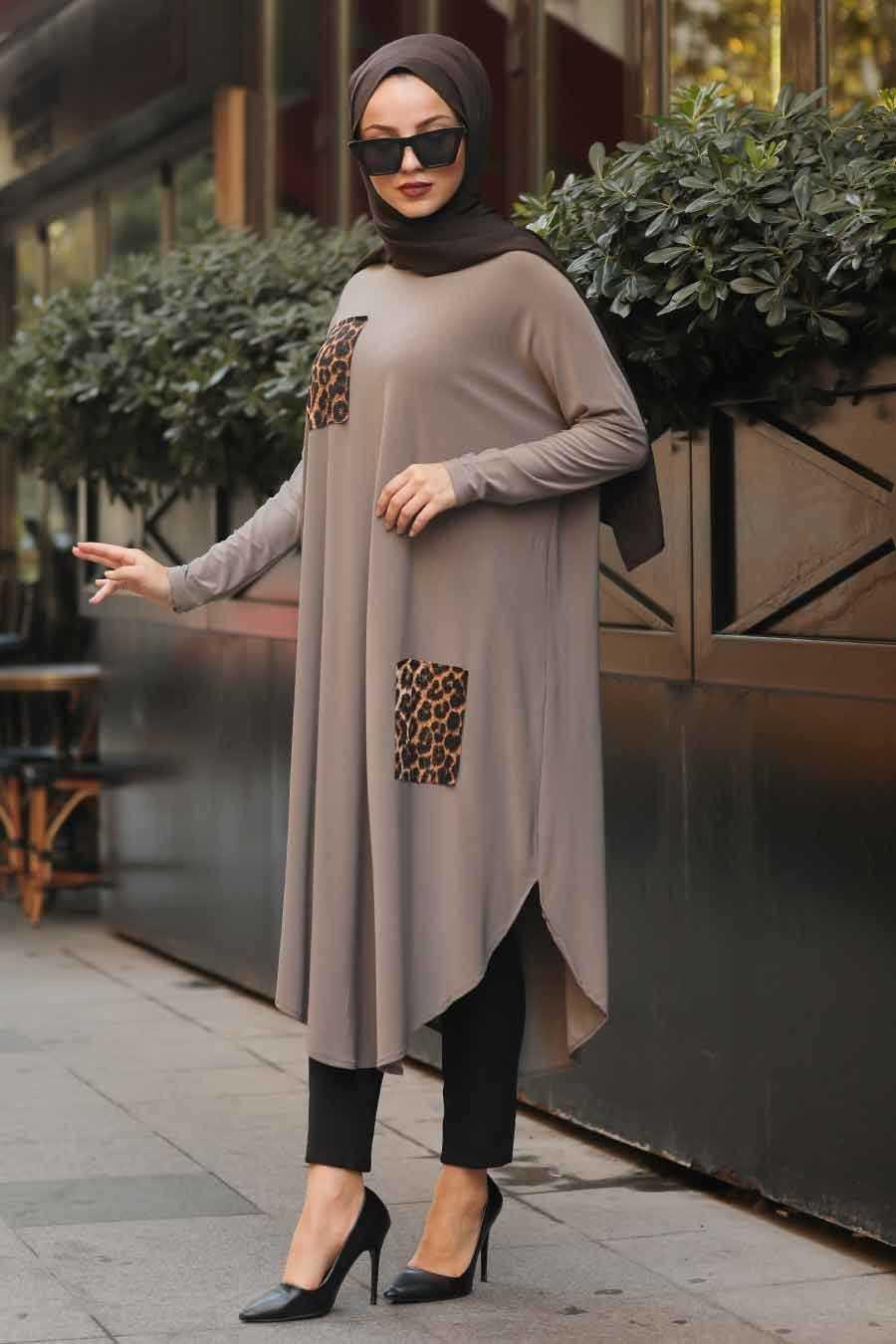 Neva Style Cep Detaylı Tunik Modelleri