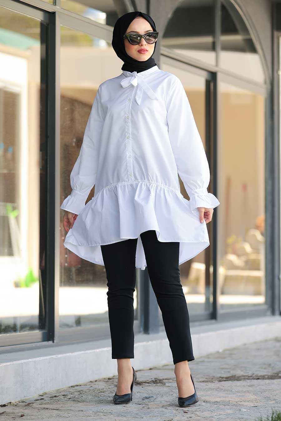 Neva Style Fırfırlı Tunik Modelleri