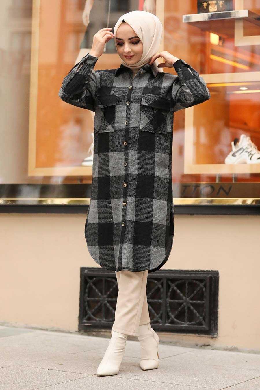 Neva Style Kareli Tunik Modelleri