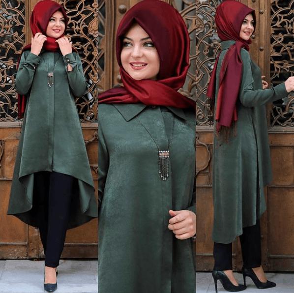 Pınar Şems Sonbahar Kış Tunik Modası