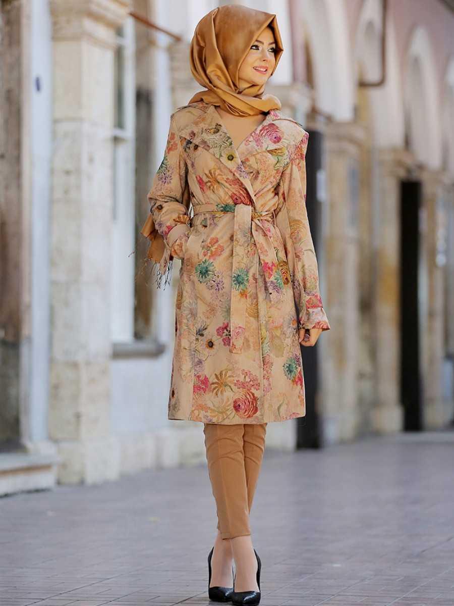 Pınar Şems Trençkot Modası