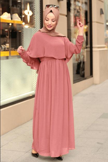 2020 Tesettür Elbise Modası