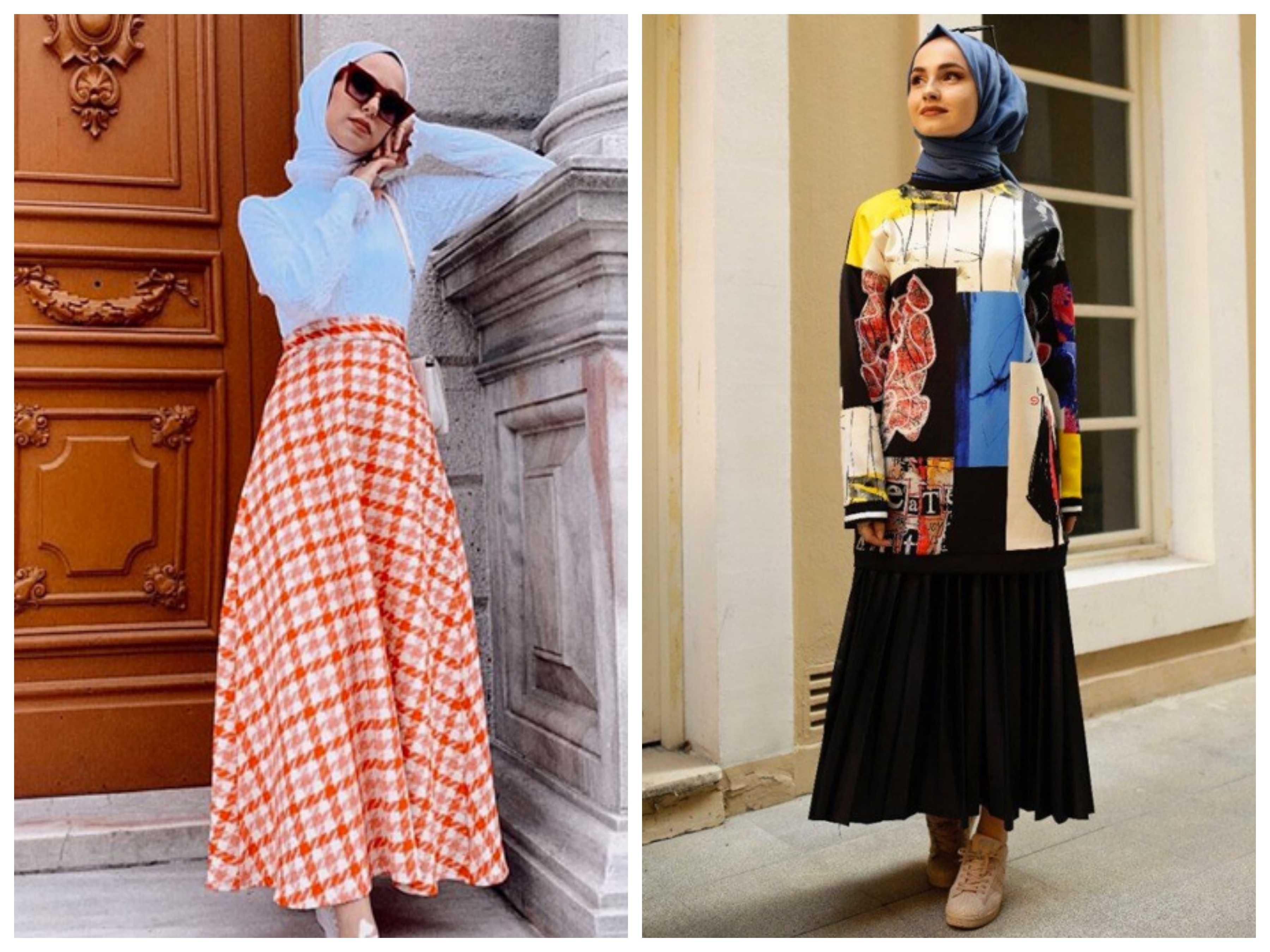 2020 Tesettür Genç Klasik Giyim Modası