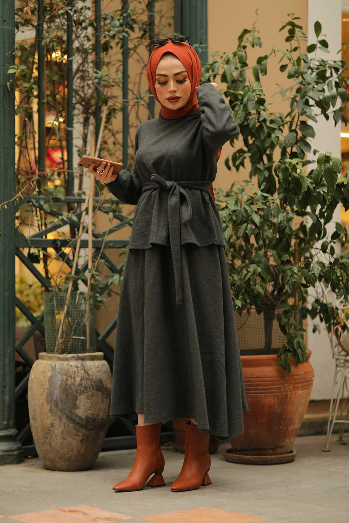 Eliza Moda Etekli Modern Takım Modelleri