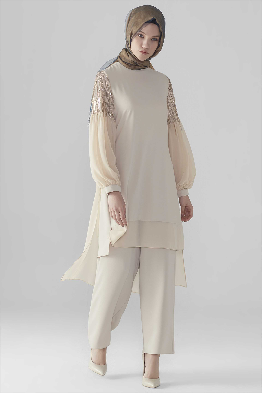 En Güzel Zühre Tesettür Tunik Modelleri