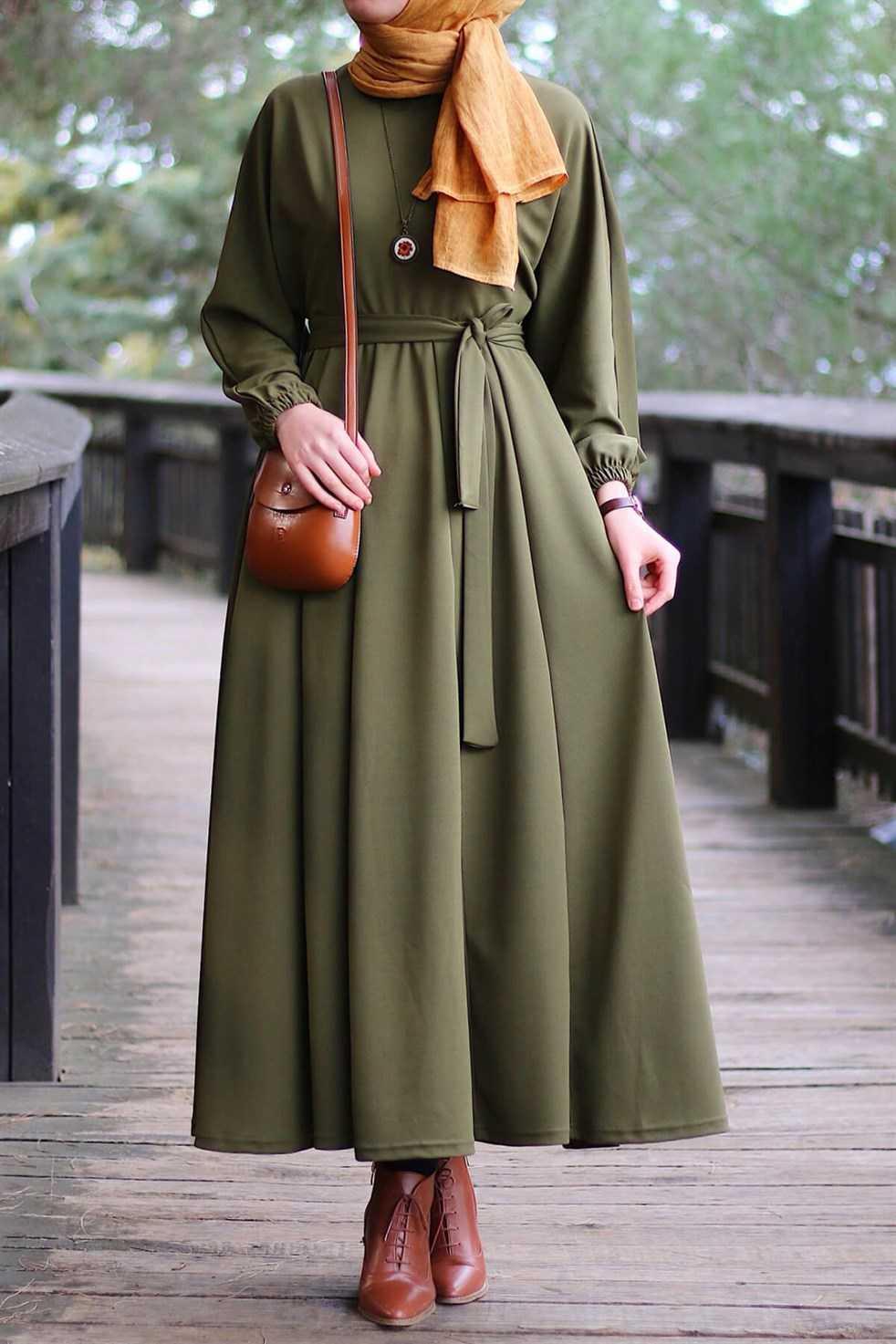 Instyle Tesettür Kloş Elbise Modelleri