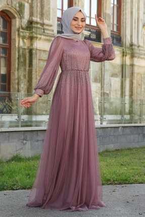 Laqueen Tesettür Abiye Elbise Modelleri