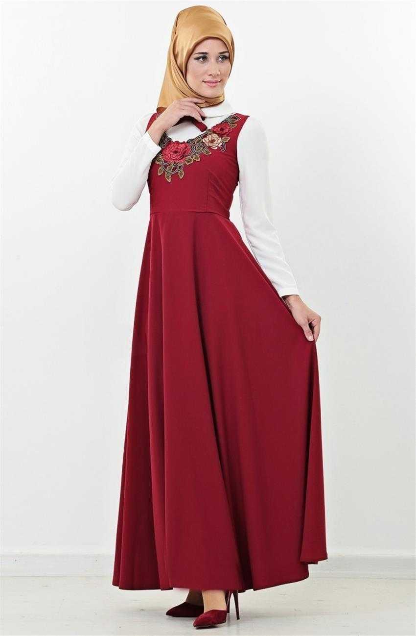 Loreen Tesettür Kloş Elbise Modelleri