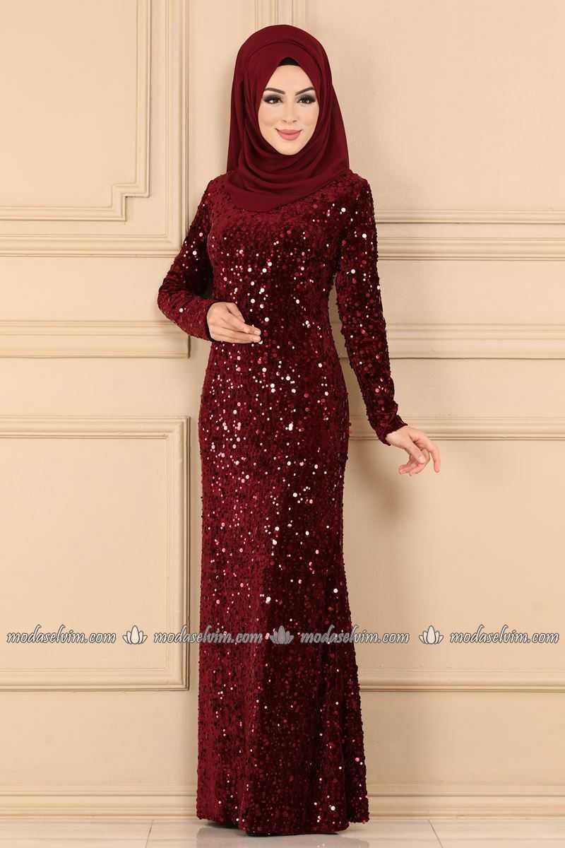 Moda Selvim Tesettür Abiye Elbise Modelleri