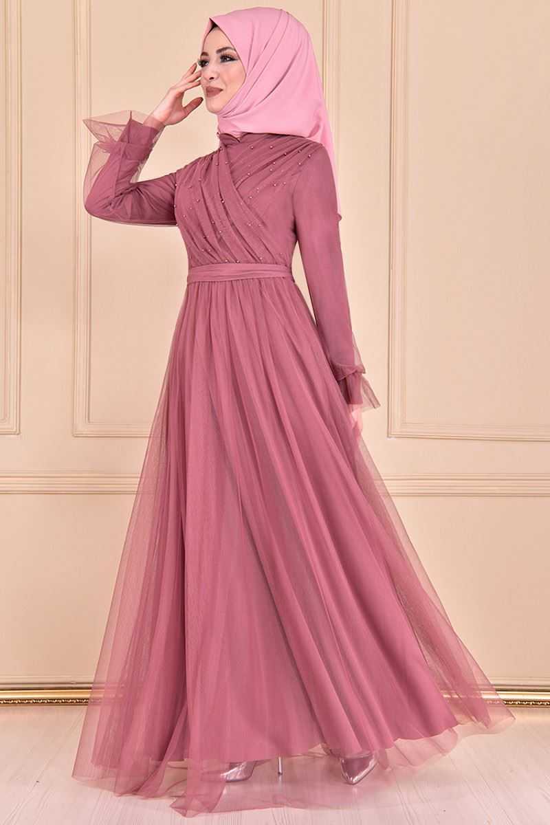 Modamerve Tesettür Abiye Elbise Modelleri