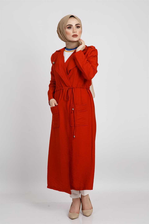 Modaperiy Tesettür Giy Çık Trençkot Modelleri