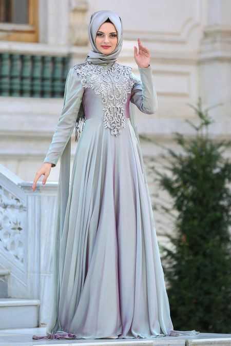 Neva Style Tesettür Abiye Elbise Modelleri