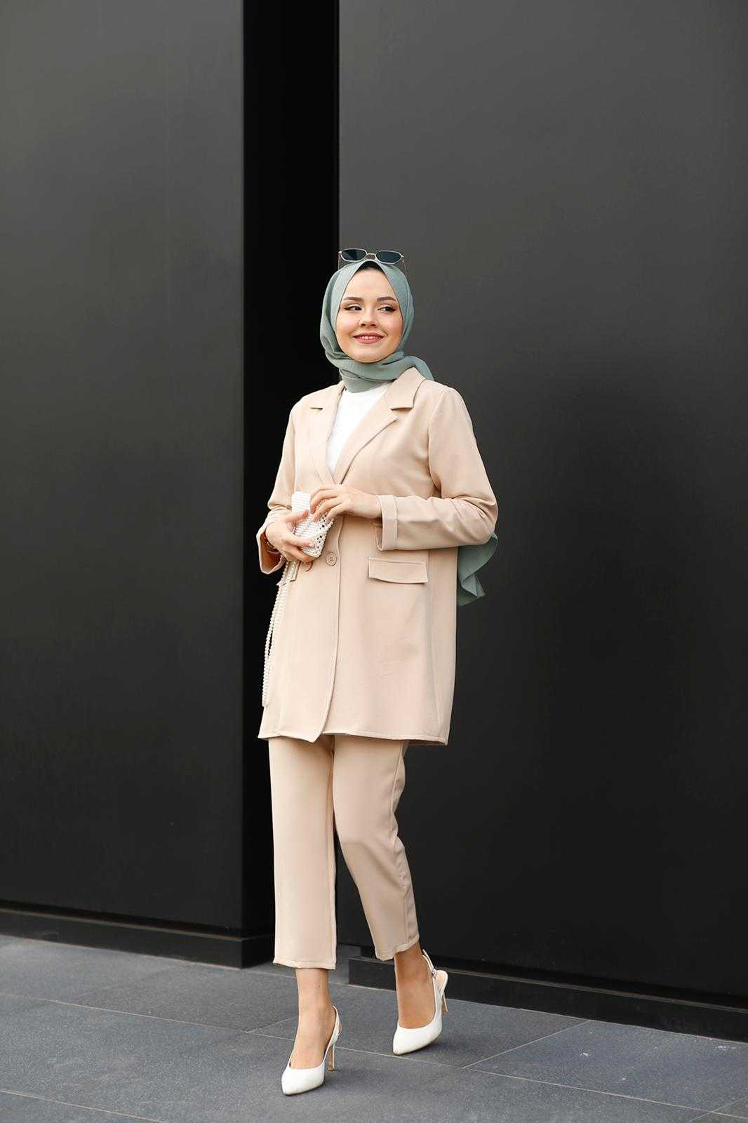 Nowan Store Tesettür Pantolon Ceket Takımlar