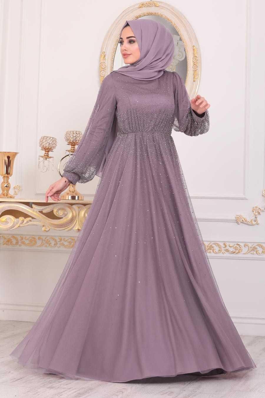 Tesettürlü Abiye Elbiseler Modelleri