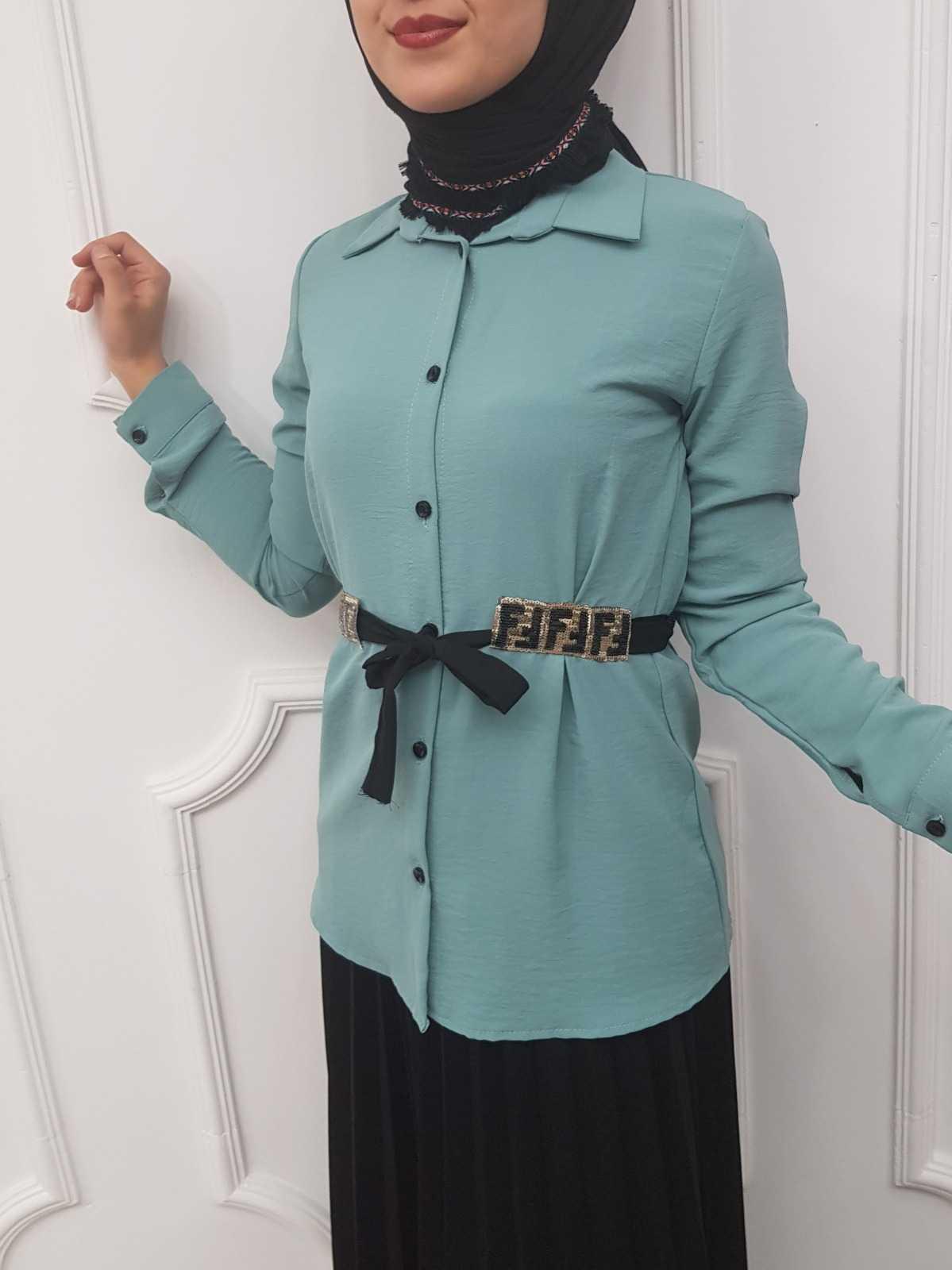 Elfida Tesettür Ayrobin Gömlek Modelleri
