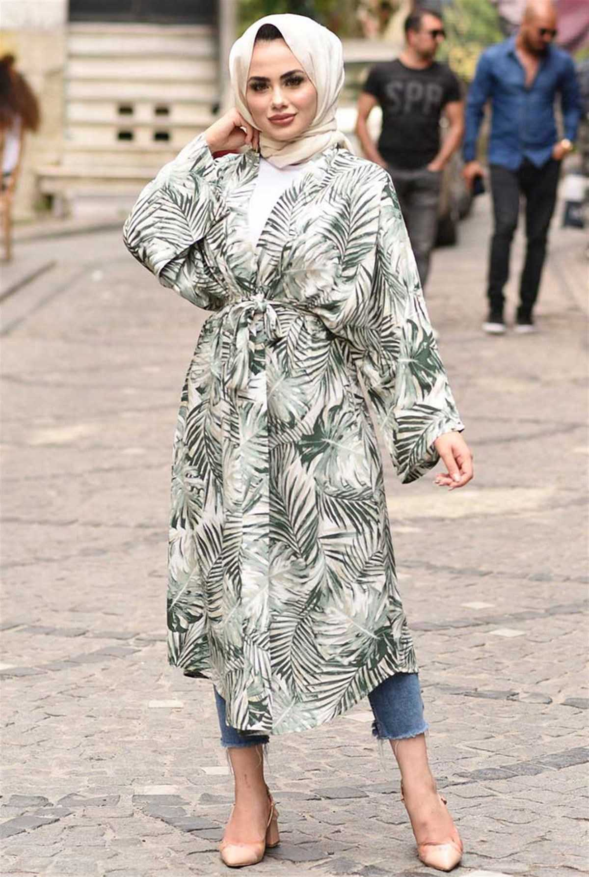Ermi Tekstil Tesettür Yazlık Kimono Modelleri