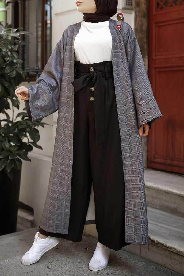 Esra Keküllüoğlu Tesettür Kimono Takım Modelleri