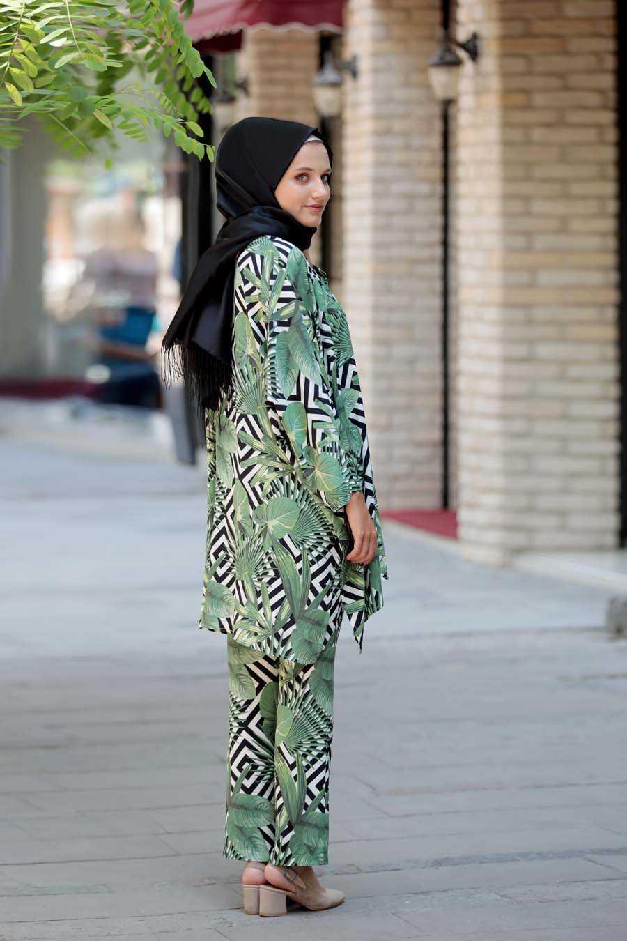 Hazem Shop Tesettür Kimono Takım Modelleri