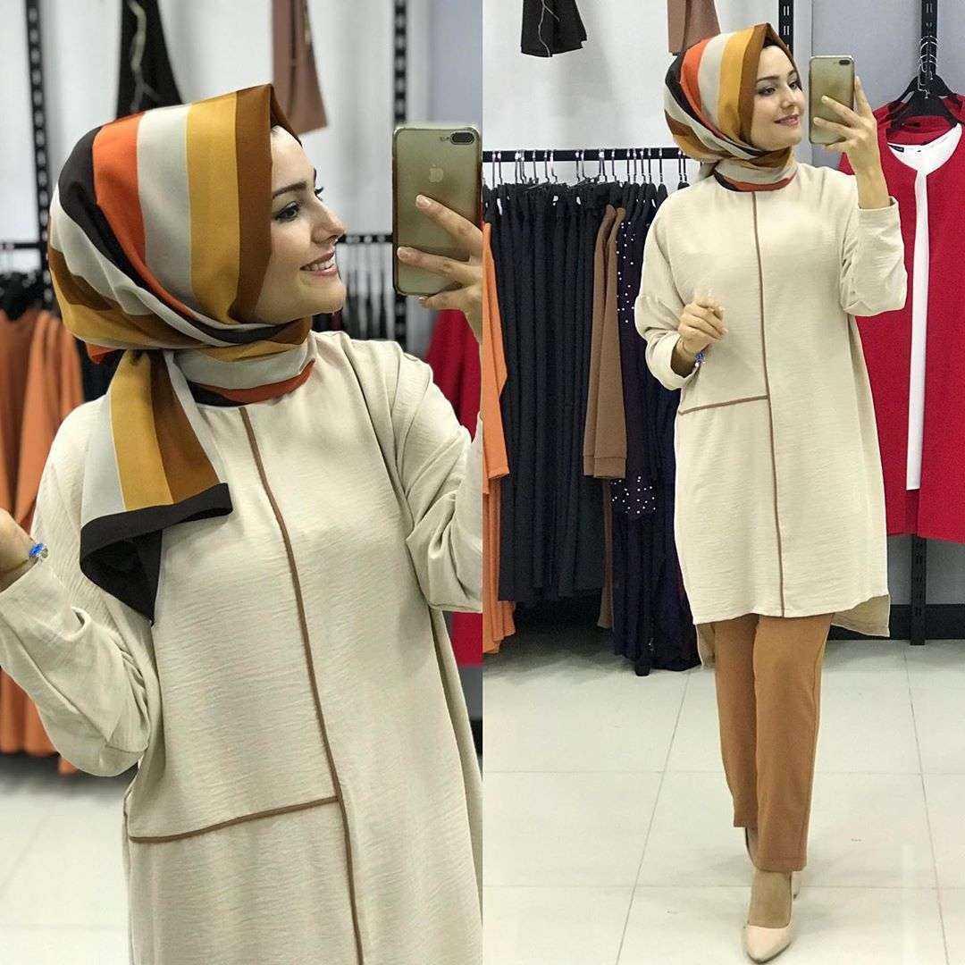 Moda Piyasa Tesettür Ayrobin Takım Modelleri
