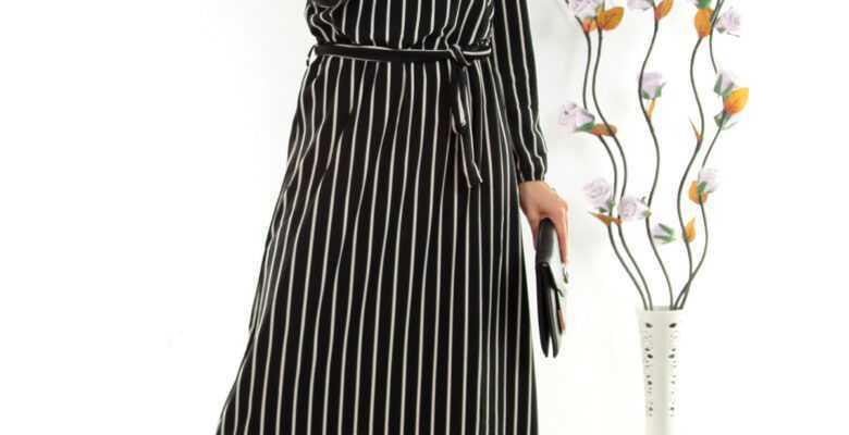 Boydan Tesettür Elbise Modelleri