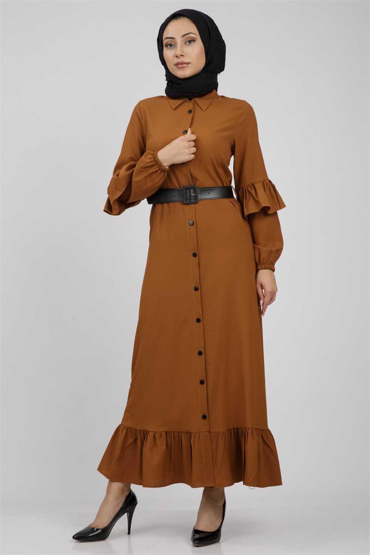 Modaperiy Boydan Tesettür Elbise Modelleri