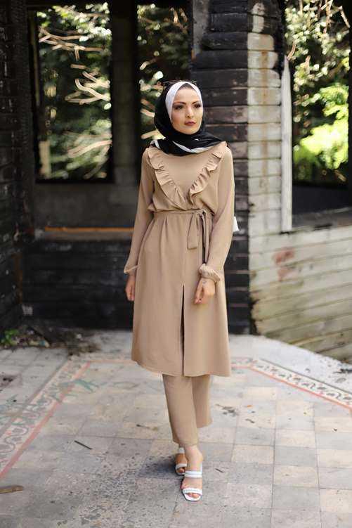 Modaşah Tesettür Ayrobin Kıyafet Modelleri