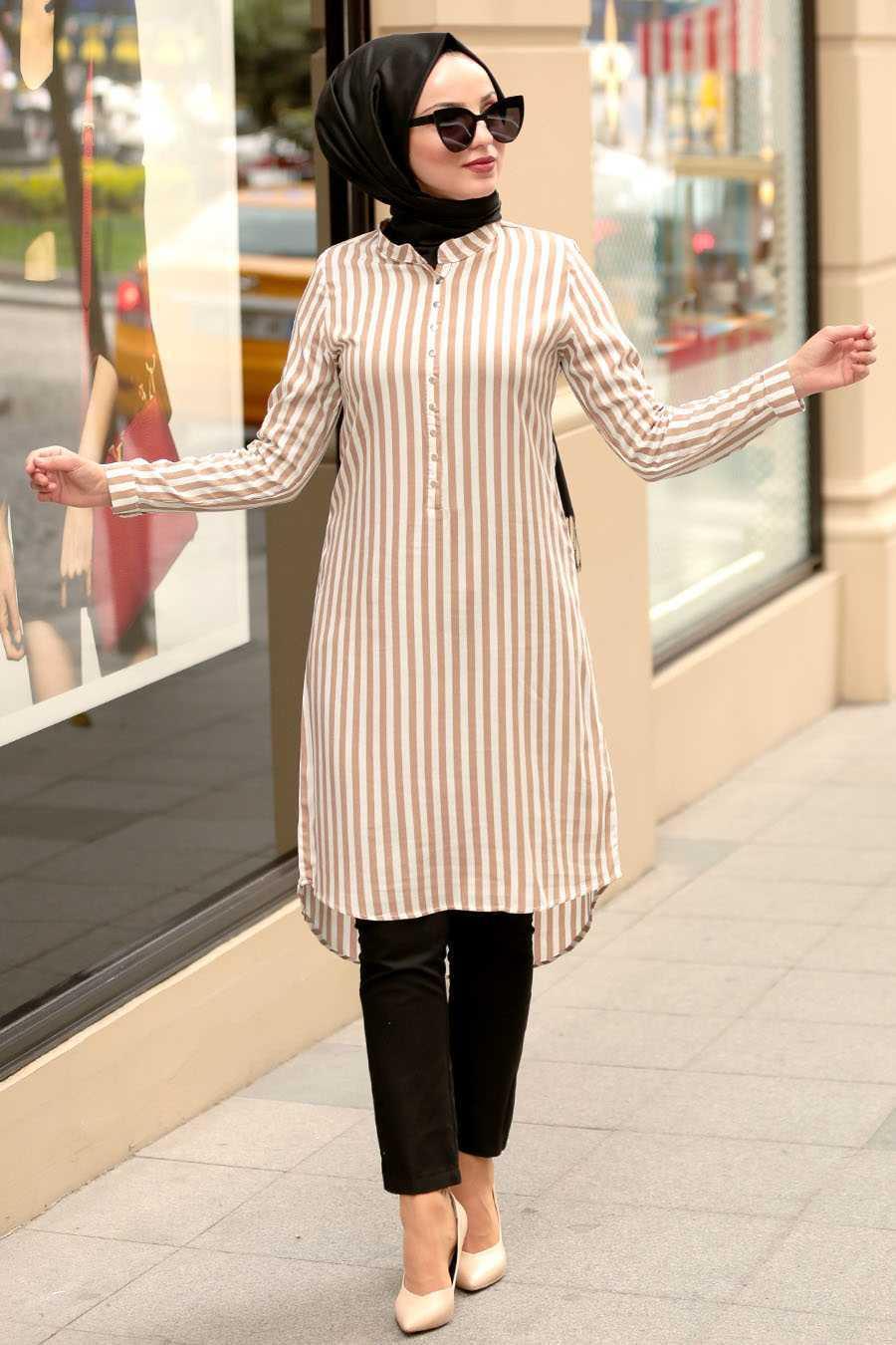 Nayla Collection Tesettür Tunik Gömlek Modelleri
