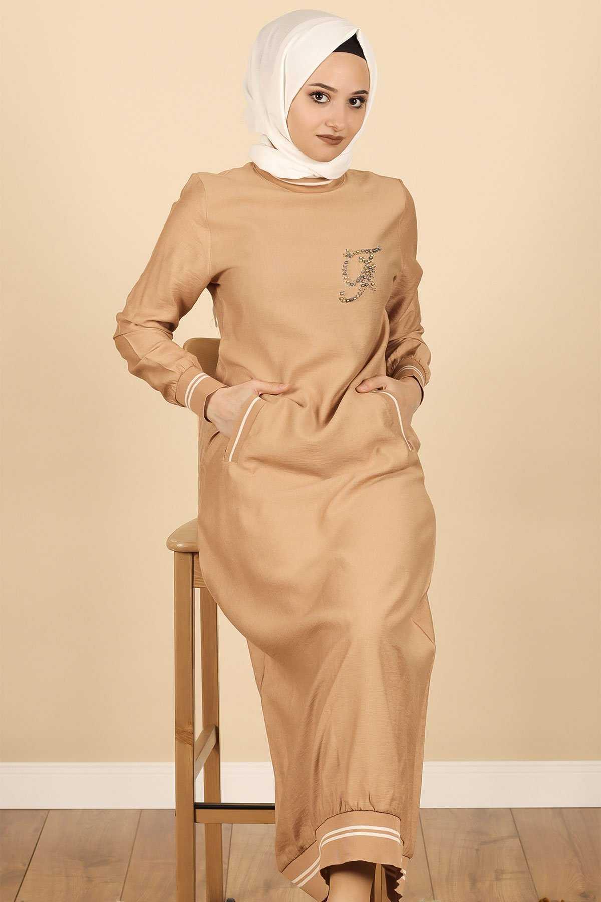 Nimoda Tesettür Ayrobin Spor Elbise Modelleri