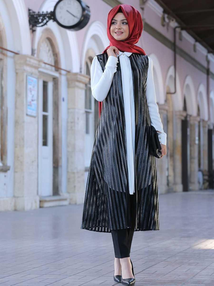 Pınar Şems Tesettür Yazlık Hırka Modelleri