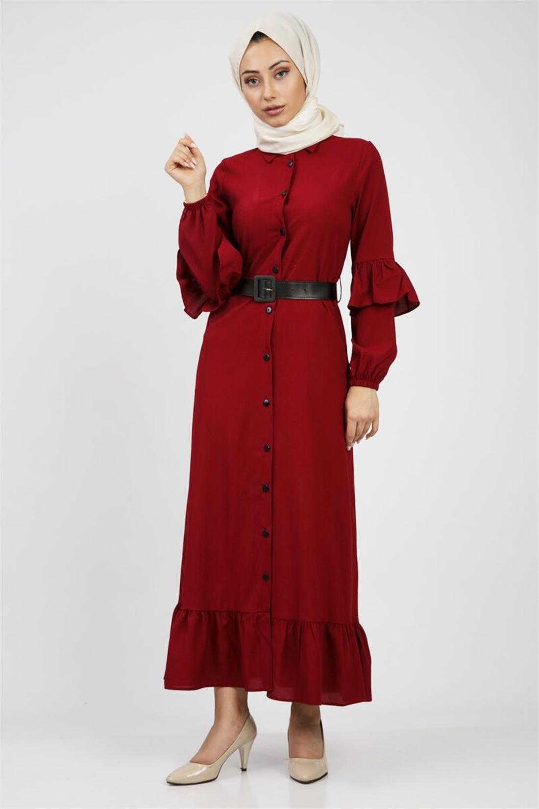 Sefa Giyim Boydan Tesettür Elbise Modelleri