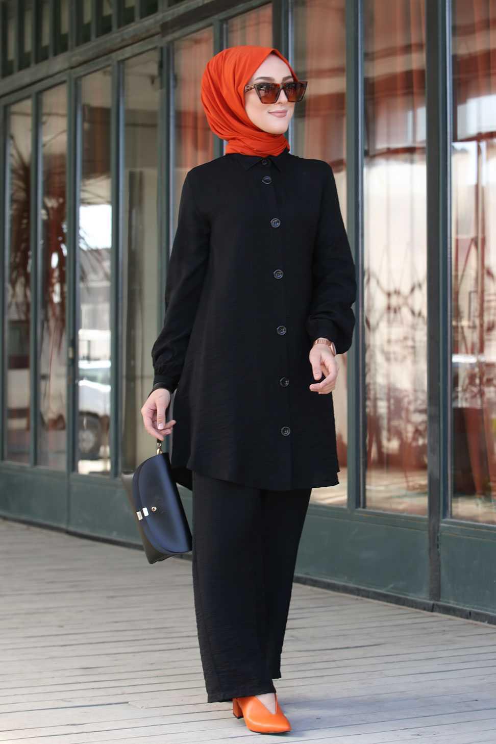 Tofisa Tesettür Ayrobin Gömlek Modelleri