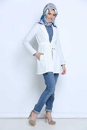 Tozlu Giyim Tesettür Yazlık Ceket Modelleri