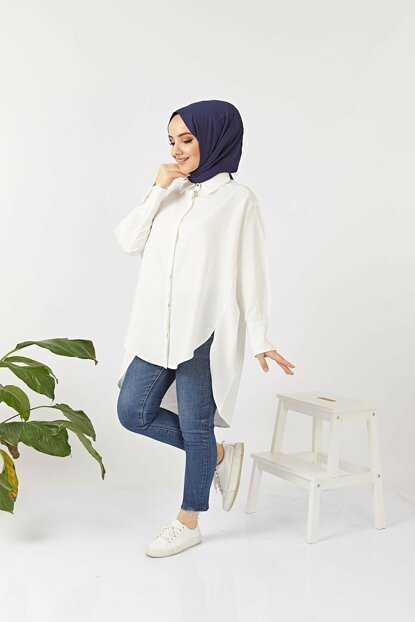 Fest Moda Tesettür Salaş Spor Gömlek Tunik Modelleri
