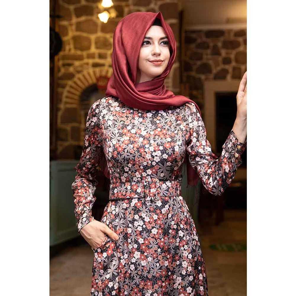 Pınar Şems Desenli Elbise Modelleri