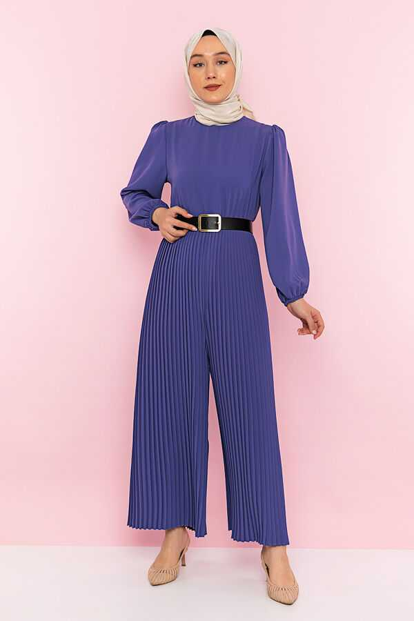 Arya Moda Tesettür Piliseli Tulum Modelleri