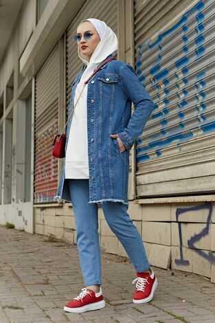 Modasena Yazlık Tesettür Ceket Modelleri