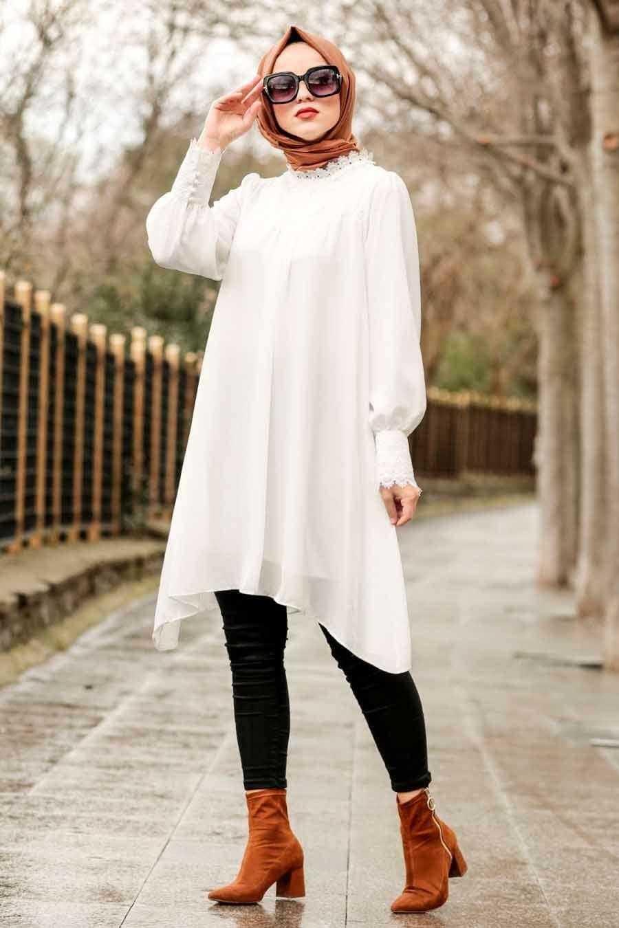 Nayla Collection Tesettür Tunik Modası