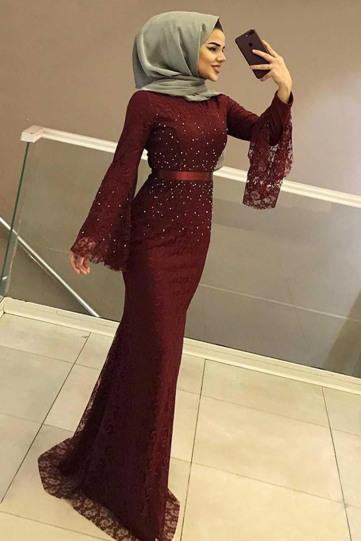 Ngiysem Genç Tesettür Abiye Elbise Modelleri