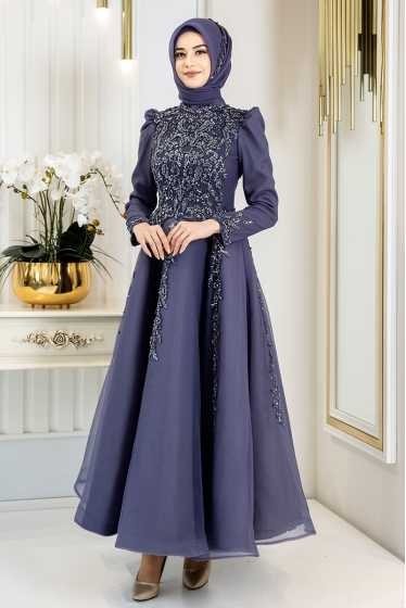 Pınar Şems Genç Tesettür Abiye Elbise Modelleri