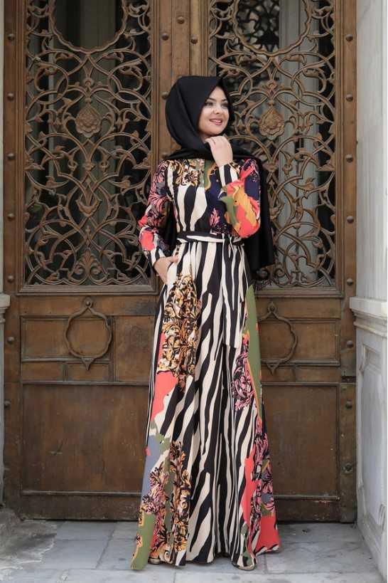 Pınar Şems Genç Tesettür Elbise Modelleri