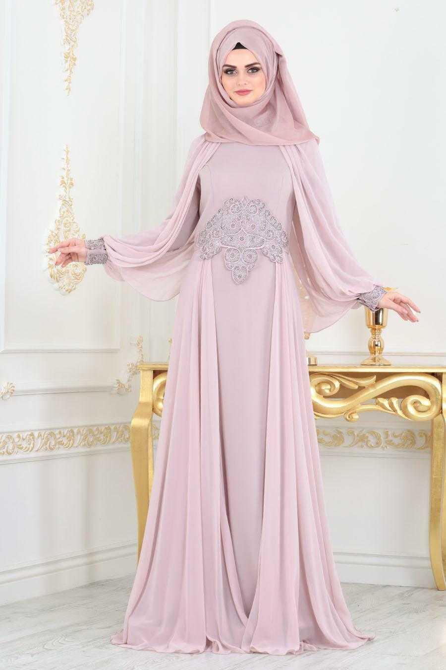 Tesettürlü Abiye Elbiseler Yeni Sezon Modelleri
