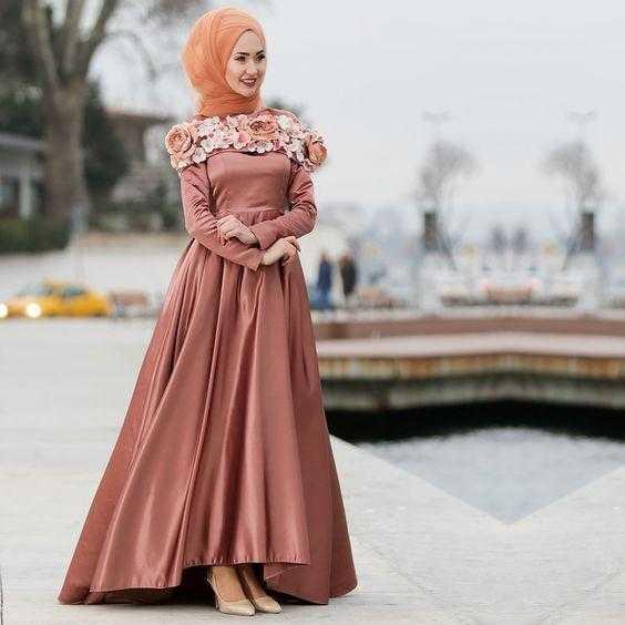Yeni Sezon Genç Tesettür Abiye Elbise Modelleri