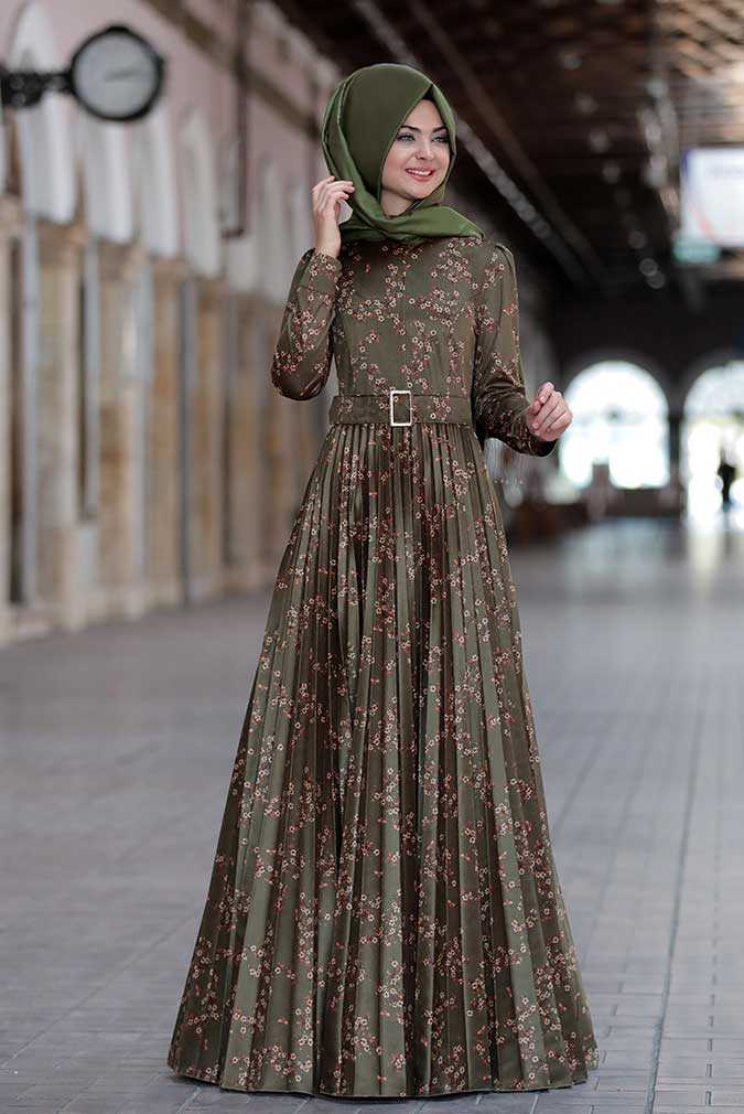 Kemerli Pınar Şems Özel Henna Elbise Modelleri