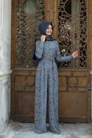 Pınar Şems Modern Tesettür Genç Tulum Modelleri
