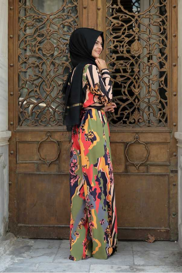 Pınar Şems Tesettür Genç Tulum Modelleri