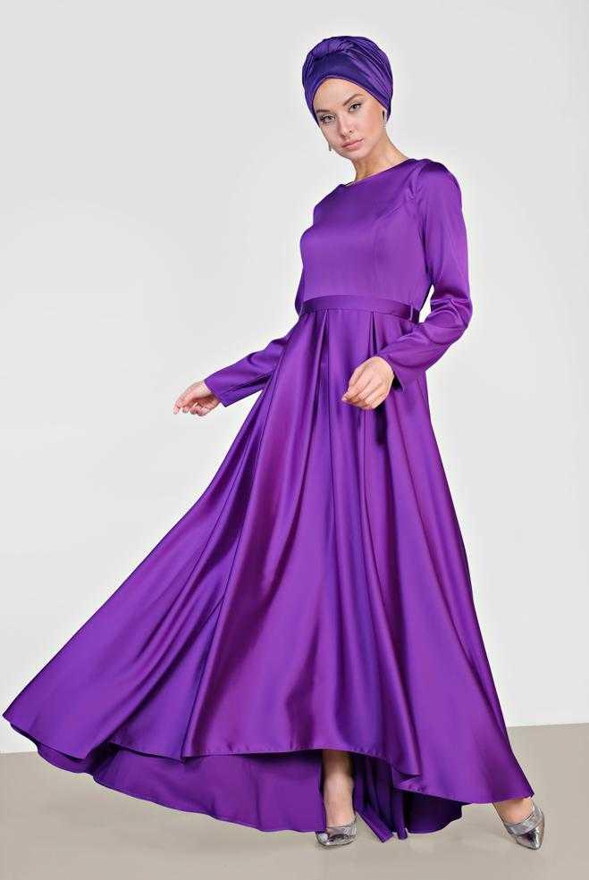 Alvina Saten Abiye Elbise Modelleri