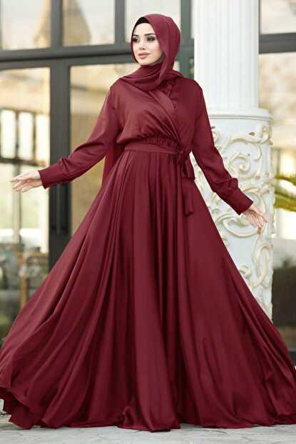 Neva Style Saten Abiye Elbise Modelleri